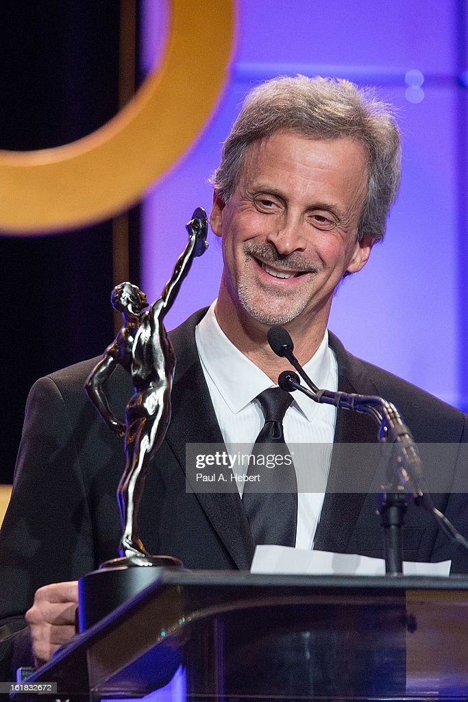 Editor William Goldenberg, A.C.E. receives the award for Best Edited Feature Film (Dramatic) for his work on 'Argo' during the 63rd Annual ACE Eddie Awards held at The Beverly Hilton Hotel on February 16, 2013 in Beverly Hills, California.