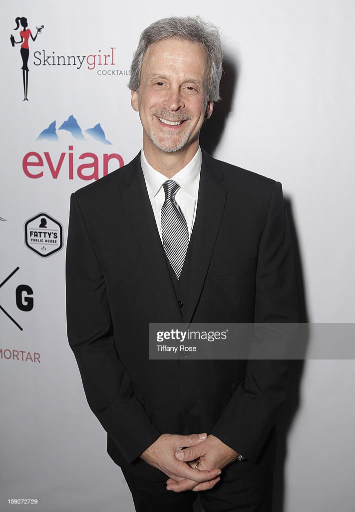Editor William Goldenberg attends the Critics' Choice Movie Awards 2013 with Evian at Barkar Hangar on January 10, 2013 in Santa Monica, California.
