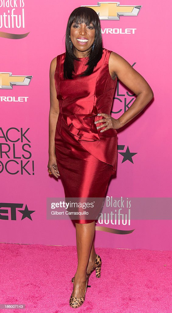 Editor-at-Large and author Mikki Taylor attends Black Girls Rock! 2013 at New Jersey Performing Arts Center on October 26, 2013 in Newark, New Jersey.