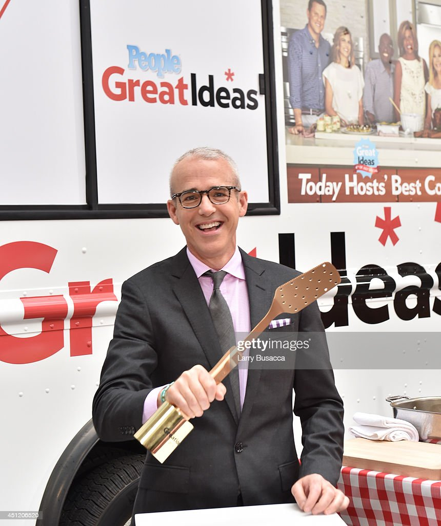 Editorial Director Jess Cagle attends the cookoff hosted by People's 'Great Ideas' food truck on NBC's Today Show on June 25 2014 in New York City