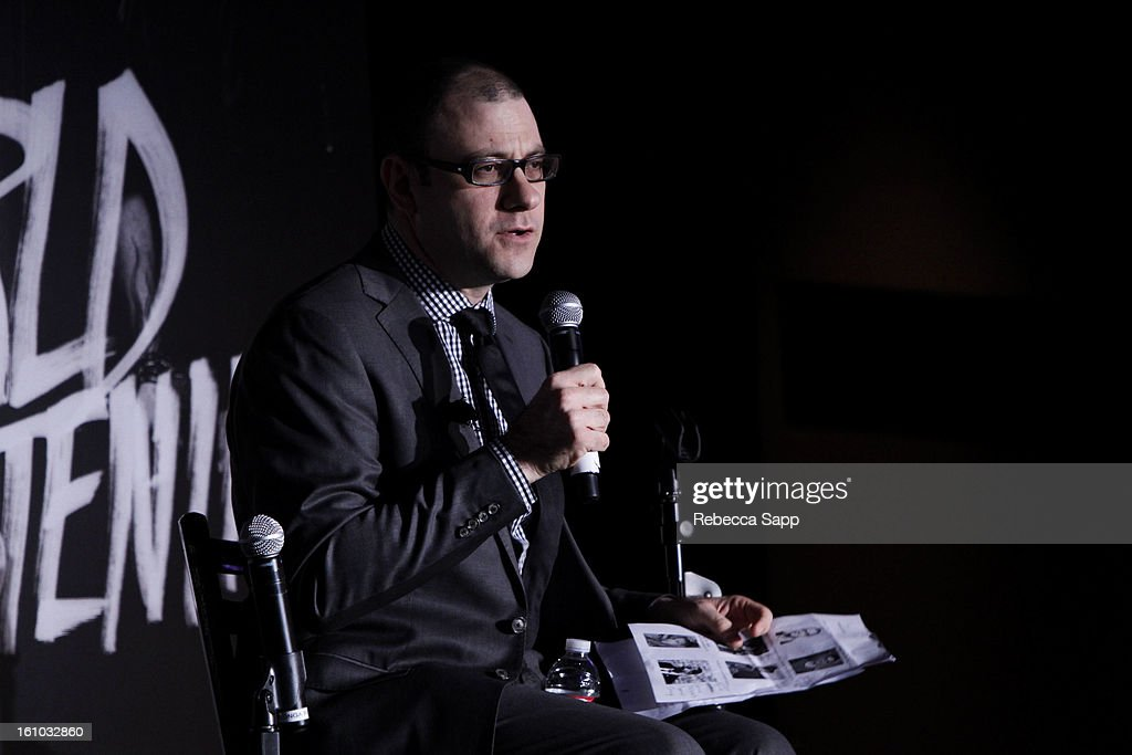 Editorial Director of Billboard and moderator Bill Werde speaks onstage at the Start Up Village/Social Media Summit at The Conga Room at LA Live on February 8, 2013 in Los Angeles, California.