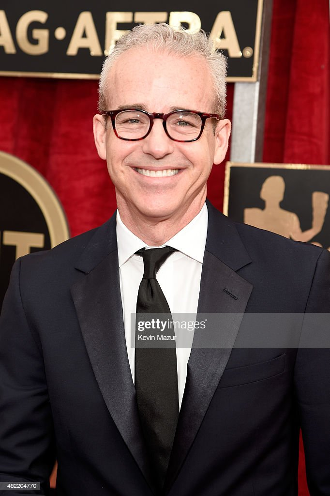 Editorial Director of Entertainment Weekly and People Jess Cagle attends TNT's 21st Annual Screen Actors Guild Awards at The Shrine Auditorium on...