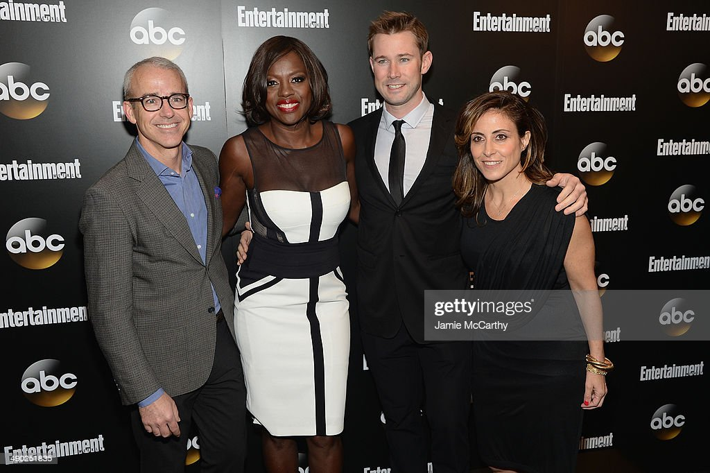 Editorial Director PEOPLE ENTERTAINMENT WEEKLY Jess Cagle actress Viola Davis ENTERTAINMENT WEEKLY editor Matt Bean and ENTERTAINMENT WEEKLY...