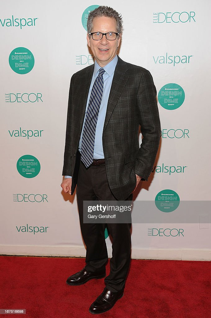 Editor-in-chief, ELLE Decor, Michael Boodro attends Housing Works 9th Annual Design On A Dime Benefit at Metropolitan Pavilion on April 25, 2013 in New York City.