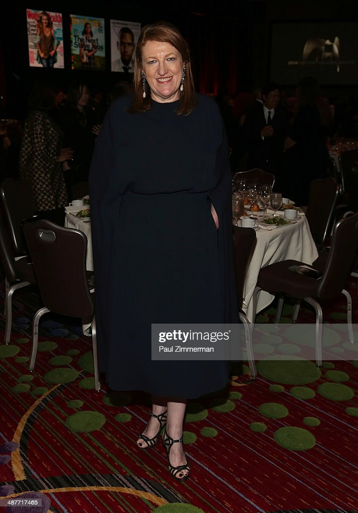 Editor-In-Chief, Harper's Bazaar <a gi-track='captionPersonalityLinkClicked' href=/galleries/search?phrase=Glenda+Bailey&family=editorial&specificpeople=213660 ng-click='$event.stopPropagation()'>Glenda Bailey</a> attends the 2014 National Magazine Awards at The New York Marriott Marquis on May 1, 2014 in New York City.