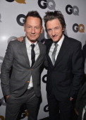 GQ editorinchief Jim Nelson and actor John Hawkes arrives at the GQ Men of the Year Party at Chateau Marmont on November 13 2012 in Los Angeles...