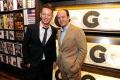 GQ editorinchief Jim Nelson and Prosper Assouline attend Martine and Prosper Assouline host Jim Nelson and Chris Mitchell to celebrate the launch of...