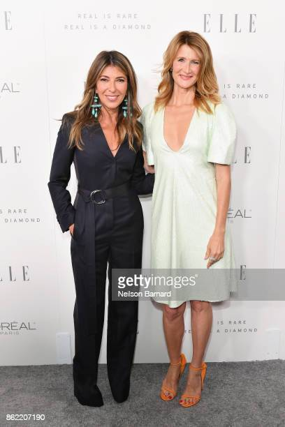 EditorinChief Nina Garcia and Laura Dern attend ELLE's 24th Annual Women in Hollywood Celebration presented by L'Oreal Paris Real Is Rare Real Is A...