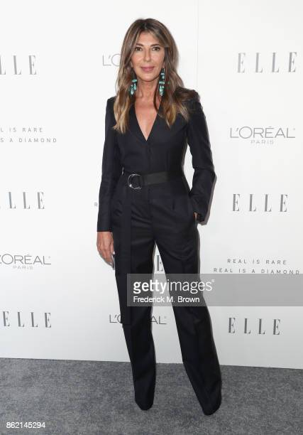 EditorinChief Nina Garcia attends ELLE's 24th Annual Women in Hollywood Celebration at Four Seasons Hotel Los Angeles at Beverly Hills on October 16...