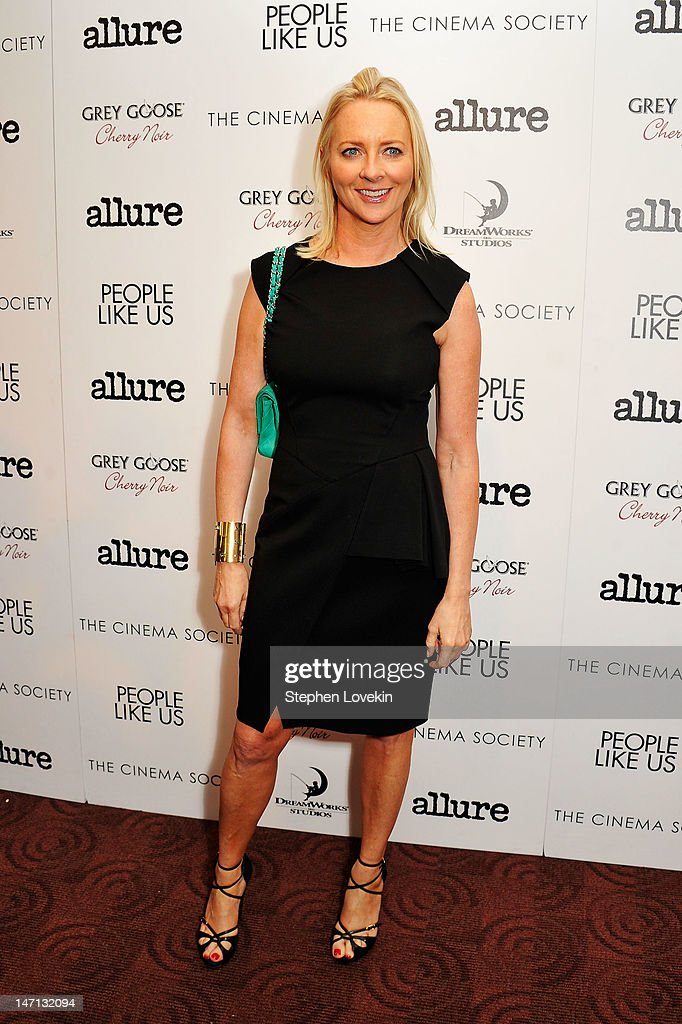Editor-in-chief of Allure Magazine Linda Wells attends the Cinema Society with Linda Wells & Allure screening of DreamWorks Studios' 'People Like Us' at Clearview Chelsea Cinemas on June 25, 2012 in New York City.