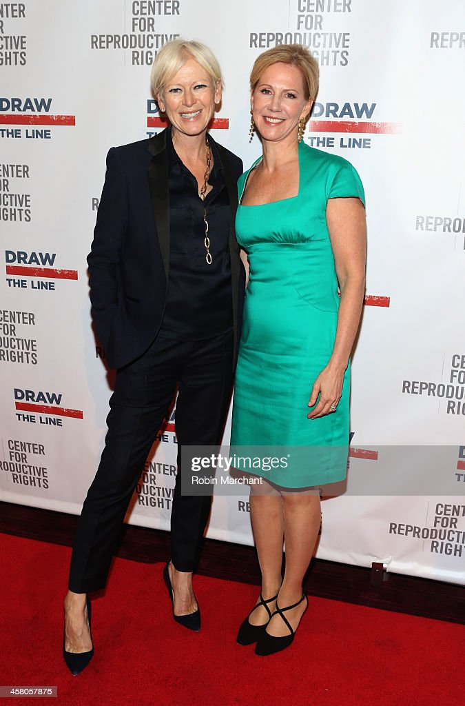 EditorinChief of Cosmopolitan Joanna Coles and President of the Center for Reproductive Rights Nancy Northup attend the Center for Reproductive...
