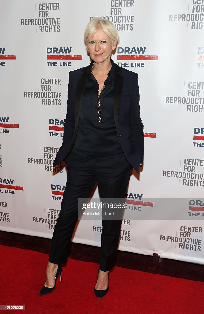 EditorinChief of Cosmopolitan Joanna Coles attends the Center for Reproductive Rights 2014 Gala at Jazz at Lincoln Center on October 29 2014 in New...