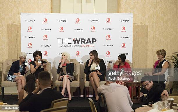 EditorinChief of El Buho Magazine Peru Mabel Caceres journalist and host of Diane Rehm Show Diane Rehm Middle East editor Newsweek editor Janine di...