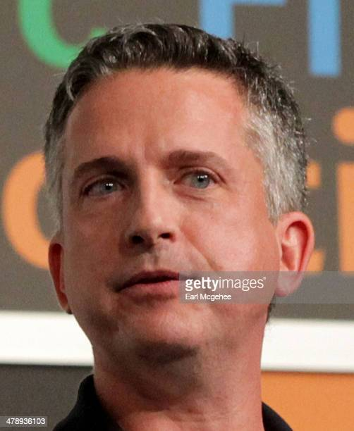EditorinChief of ESPN's FiveThirtyEight blog Nate Silver and EditorinChief for Grantlandcom Bill Simmons speak onstage at 'Media The Personal Brand...