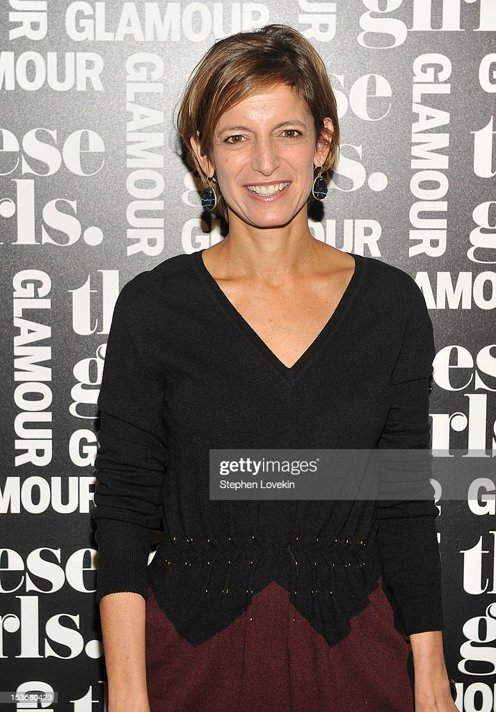 Editor-in-chief of Glamour Cindi Leive attends Glamour Presents 'These Girls' at Joe's Pub on October 8, 2012 in New York City.