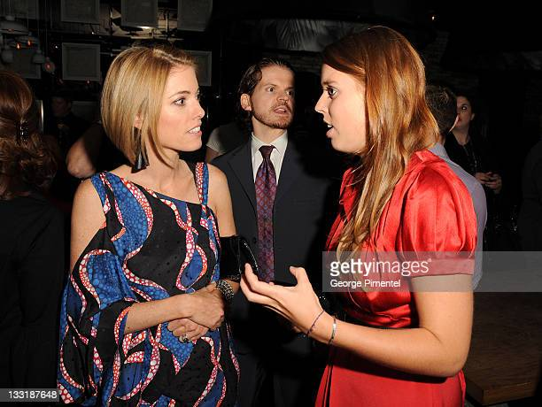 EditorInChief of Hello Canada Magazine Ciara Hunt and Princess Beatrice of York attend the Sarah Ferguson Foundation Launch Party at Ultra on...