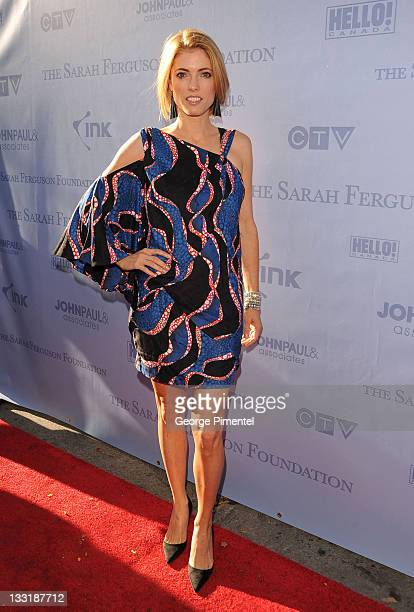 EditorInChief of Hello Canada Magazine Ciara Hunt attends the Sarah Ferguson Foundation Launch Party at Ultra on September 18 2009 in Toronto Canada