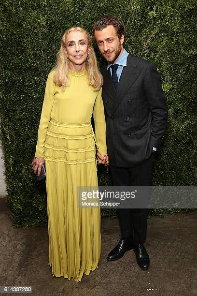EditorInChief of Italian Vogue Franca Sozzani and director Francesco Carrozzini attend the 'Franca Chaos And Creation' New York Screening at...