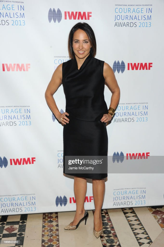Editor-in-chief of Marie Claire, Anne Fulenwide attends the International Women's Media Foundation's 2013 Courage In Journalism And Lifetime Achievement Awards at Cipriani 42nd Street on October 23, 2013 in New York City.