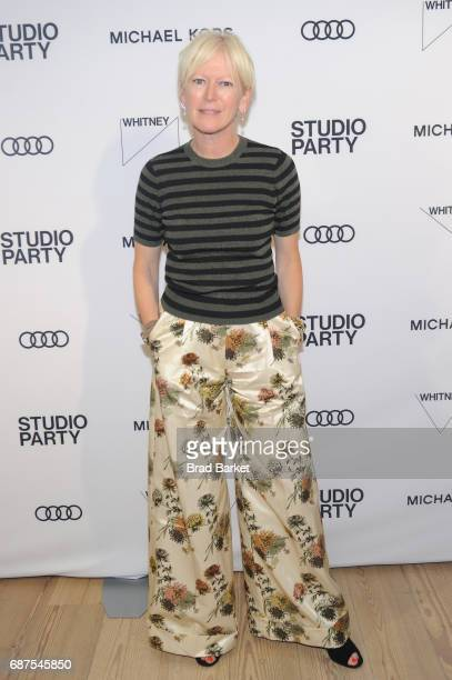 EditorinChief of Marie Claire Joanna Coles attends the Whitney Museum's annual Spring Gala and Studio Party 2017 sponsored by Audi and Michael Kors...