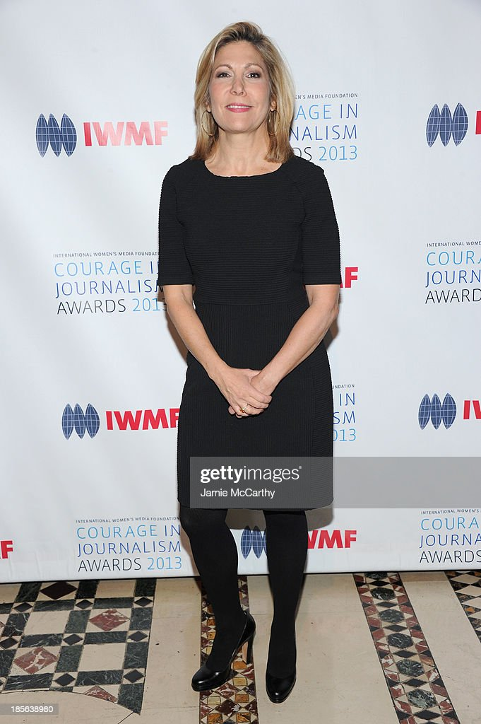 Editor-in-chief of More Lesley James Seymour attends the International Women's Media Foundation's 2013 Courage In Journalism And Lifetime Achievement Awards at Cipriani 42nd Street on October 23, 2013 in New York City.