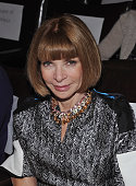 EditorinChief of Vogue Anna Wintour attends a screening of 'The Whistleblower' hosted by the Cinema Society Dior Beauty with DeLeo at the Tribeca...