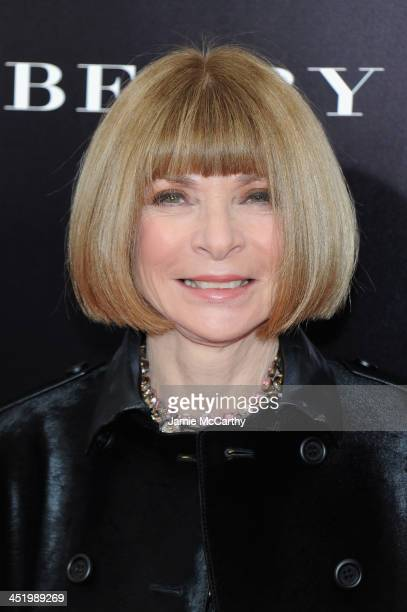 EditorinChief of VOGUE magazine Anna Wintour attends 'Mandela Long Walk To Freedom' screening hosted by U2 Anna Wintour Bob and Harvey Weinstein with...
