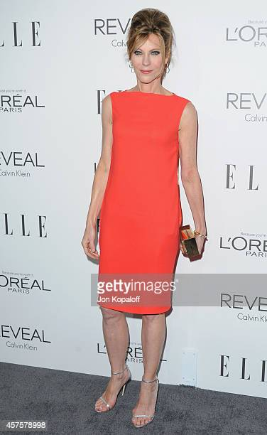 EditorinChief Robbie Myers arrives at the 21st Annual ELLE Women In Hollywood Awards at Four Seasons Hotel Los Angeles at Beverly Hills on October 20...