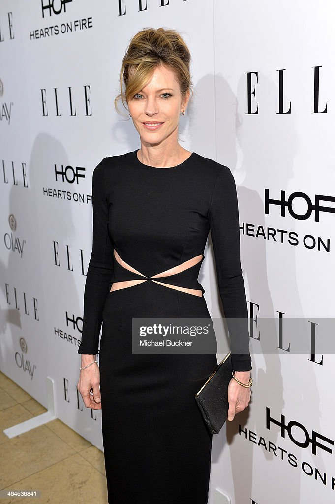 Editor-in-Chief Robbie Myers attends ELLE's Annual Women in Television Celebration on January 22, 2014 in West Hollywood, California.