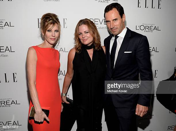 ELLE EditorinChief Robbie Myers David Yurman President and Chief Commercial Officer Carol Pennelli and ELLE Senior Vice President Publisher and Chief...