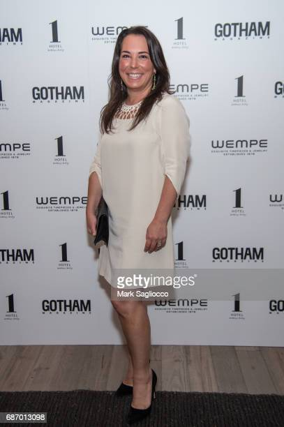 EditorinChief Samantha Yanks attends Gotham Magazine's Celebration of it's Late Spring Issue with Noah Syndergaard at 1 Hotel Brooklyn Bridge on May...
