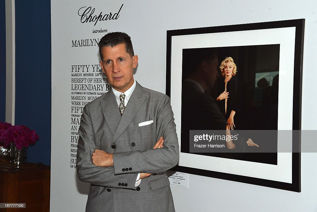 W Editor-in-Chief Stefano Tonchi attends the Chopard and W Magazine 'Marilyn Forever' exhibition at Soho Beach House on December 6, 2012 during Art Basel Miami in Miami Beach, Florida.