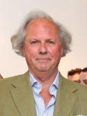 Editorinchief US Vanity Fair Graydon Carter attends the art show 'Theurgy' at the Elga Wimmer Gallery on April 29 2010 in New York City