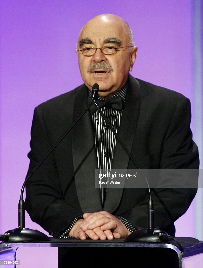 Editor/President of ACE Alan Heim speaks onstage during the 57th annual ACE Eddie Awards held at the Beverly Hilton Hotel on February 18 2007 in...