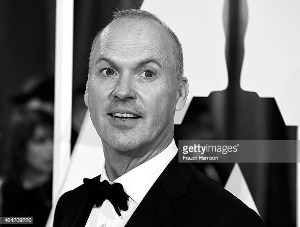 Editors Note Actor Michael Keaton arrives at the 87th Annual Academy Awards at Hollywood Highland Center on February 22 2015 in Hollywood California