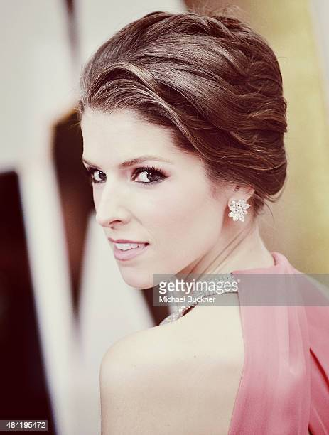 Editors Note Actress Anna Kendrick arrives at the 87th Annual Academy Awards at Hollywood Highland Center on February 22 2015 in Hollywood California