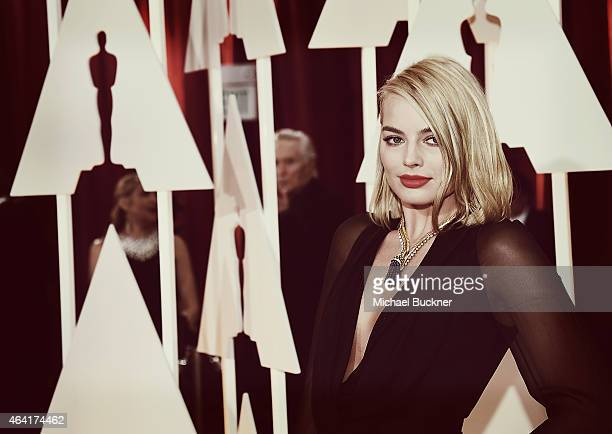 Editors Note Actress Margot Robbie arrives at the 87th Annual Academy Awards at Hollywood Highland Center on February 22 2015 in Hollywood California