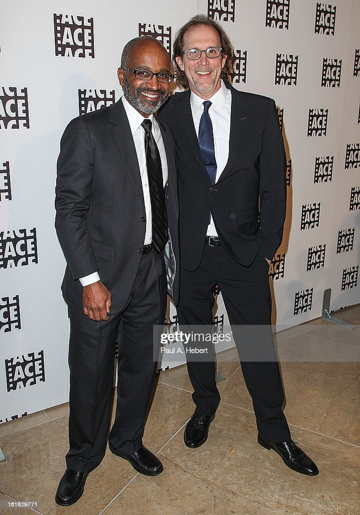 Editors Robert Grahamjones, A.C.E. (L) and Nicholas C. Smith, A.C.E. arrive at the 63rd Annual ACE Eddie Awards held at The Beverly Hilton Hotel on February 16, 2013 in Beverly Hills, California.
