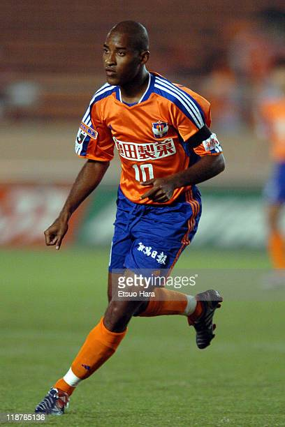 Edmilson of Albirex Niigata in action during the JLeague Division 1 second stage match between Albirex Niigata and Kashiwa Reysol at the National...