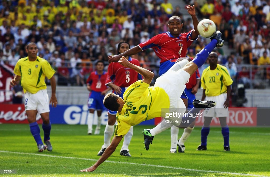 Image result for world cup 2002 edmilson goal