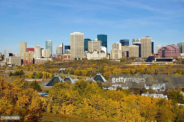 Edmonton and the Vivid Colors of Fall