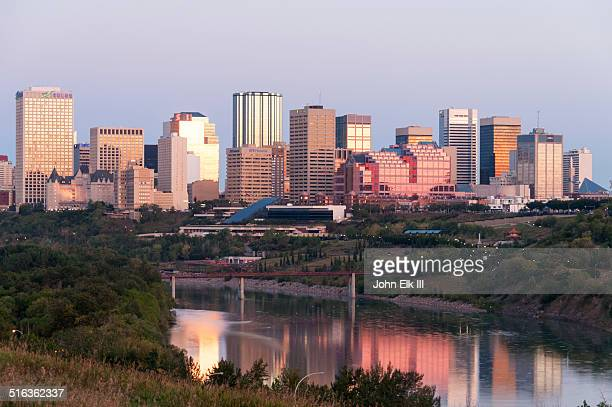 Edmonton, city skyline