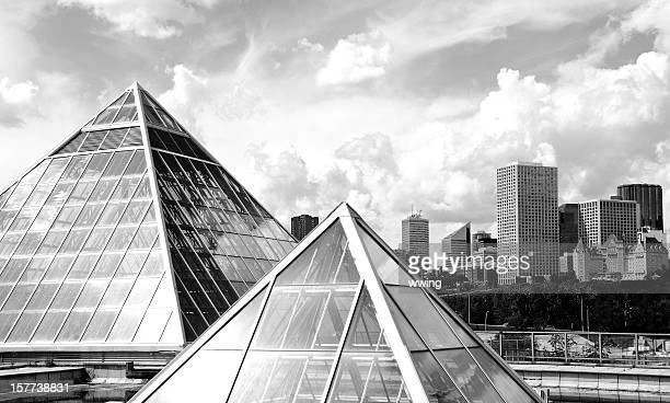 Edmonton Skyline And Conservatory