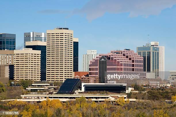 Edmonton Skyline and Convention Center