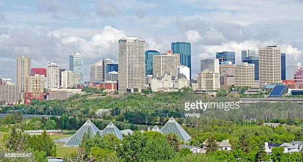 Edmonton Skyline Editorial