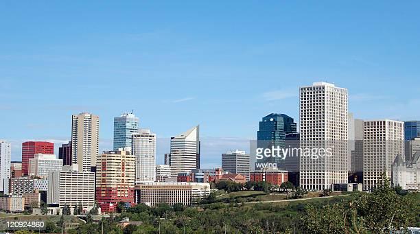 Edmonton Skyline In The Summer