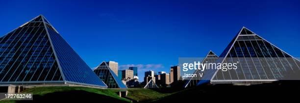 Edmonton Skyline with Blue sky