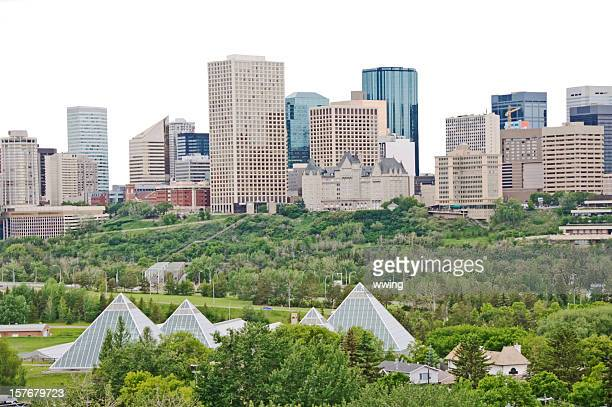 Edmonton Skyline with Clipping Path