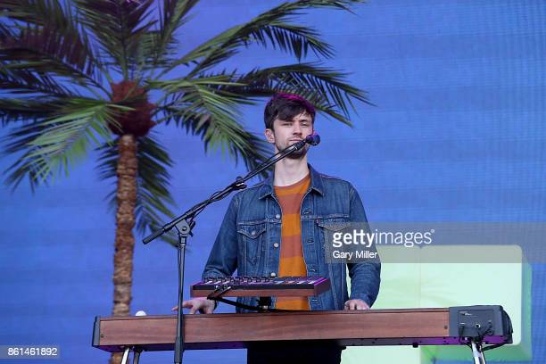 Edmund IrwinSinger of Glass Animals performs in concert during day two of the second weekend of Austin City Limits Music Festival at Zilker Park on...