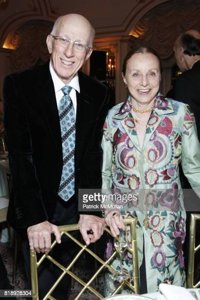 Edmund Leites and Judith Schlosser attend MUSEUM Of The MOVING IMAGE Dinner In Honor Of KATIE COURIC And PHIL KENT at St Regis Hotel on May 5 2010 in...